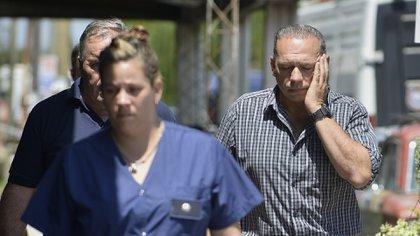 Sergio Berni se hizo presente en el lugar del crimen (Gustavo Gavotti)