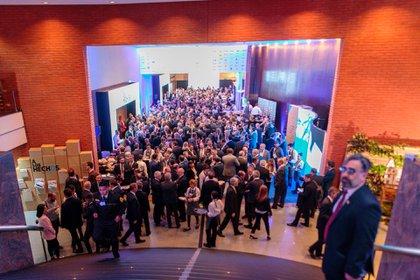 El 55º Coloquio de IDEA se está desarrollando en el hotel Sheraton de Mar del Plata