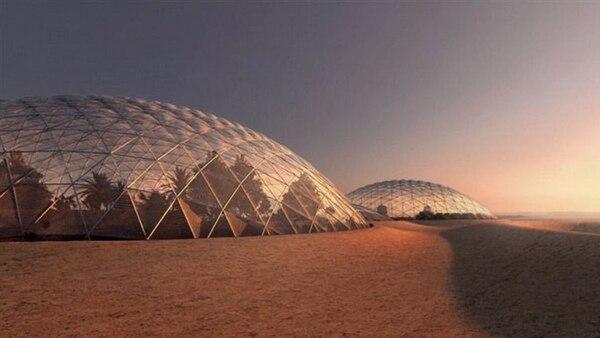La ciudad es uno de los pasos EAU para conquista el planeta rojo
