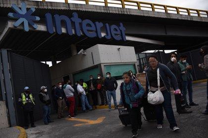 En ese periodo, las cancelaciones afectaron a 3,099 pasajeros. (FOTO: DANIEL AUGUSTO /CUARTOSCURO)