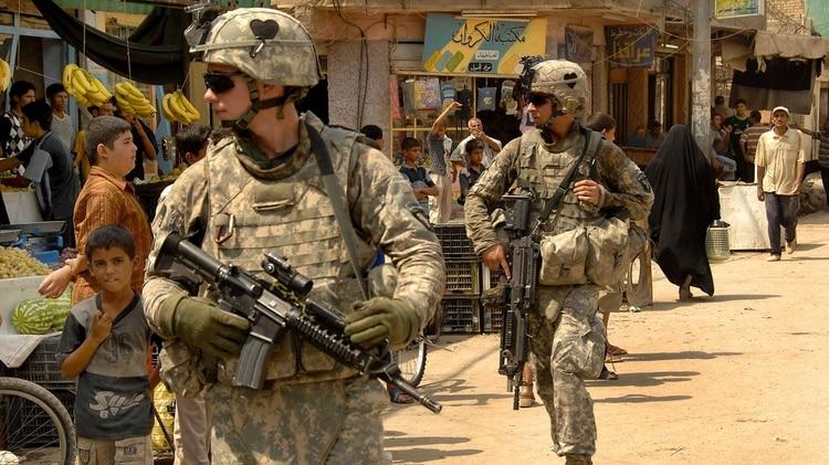 Tropas de Estados Unidos en Irak (Reuters)