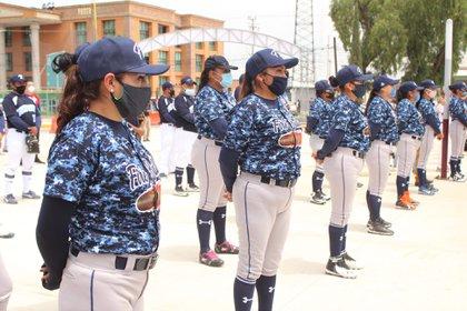 En la Escuela Regional de Béisbol en Texcoco se invirtieron 70 millones de pesos (Foto: Facebook@SandraLuzFalcon)