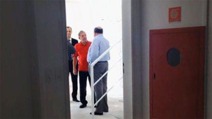 La comprometedora foto de Lula y Pinheiro en el edificio