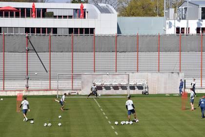Los jugadores del Bayern Múnich regresaron a los entrenamientos