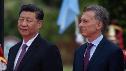Xi Jinping y Mauricio Macri (Adrian Escandar)