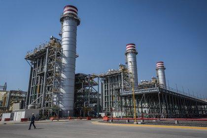 Termoeléctrica en la comunidad de Huexca, Morelos  Foto: EFE/Luis Galicia/Archivo