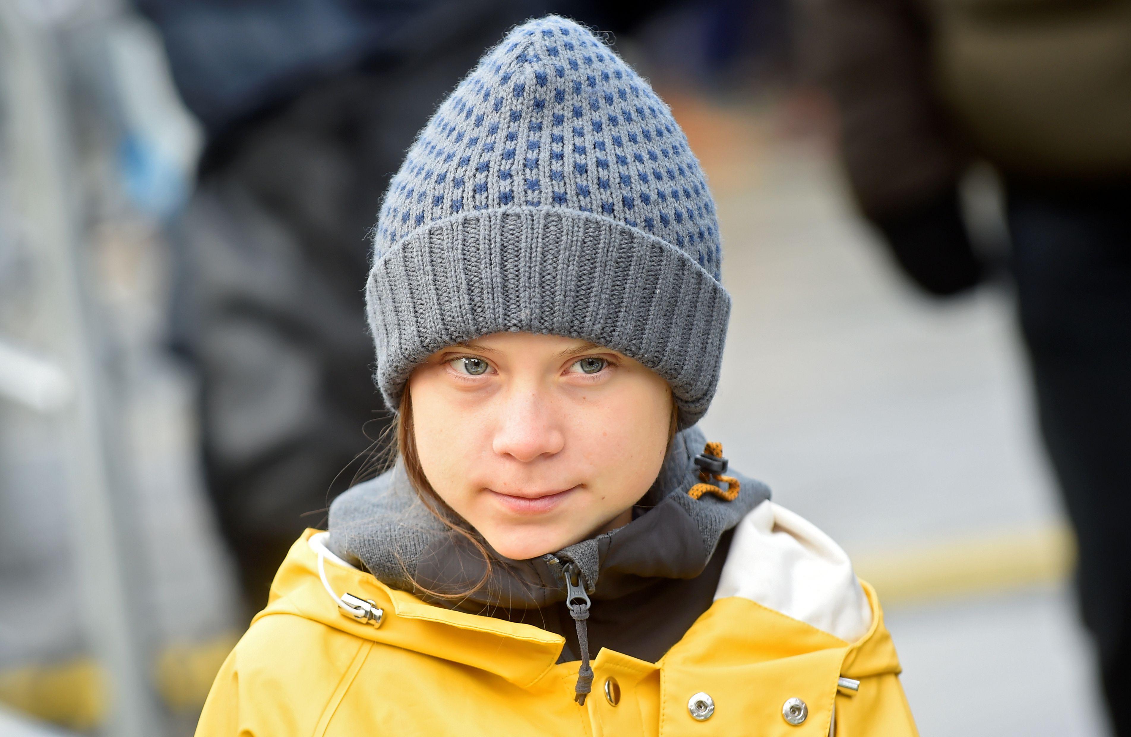 Greta Thunberg (Massimo Pinca / Reuters)