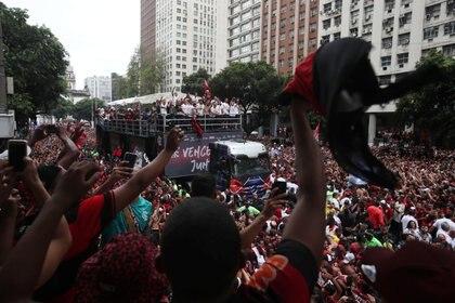 El título fue tan relevante que hasta el presidente de Brasil, Jair Bolsonaro envió un mensaje