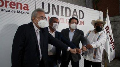 Por su parte, Citlalli Hernández, secretaria general del partido, dijo que la Comisión de Honestidad y Justicia se tenía que posicionar sobre el tema (Foto: Cuartoscuro)