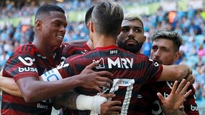 Flamengo ganó en su último partido antes de River y extendió su invicto a 25 partidos (Reuters)