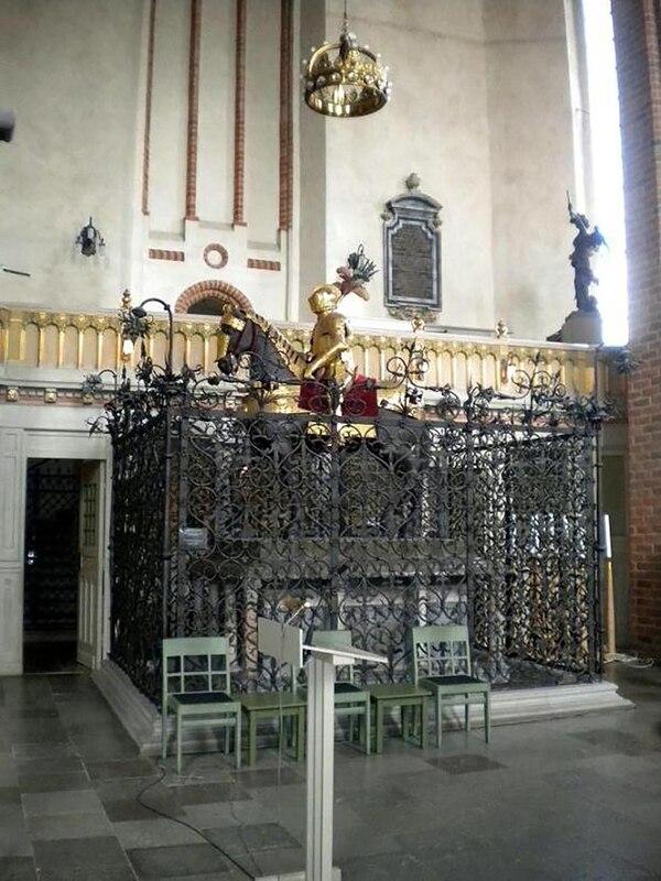 Los objetos fueron extraídos de la catedral de Strängnäs