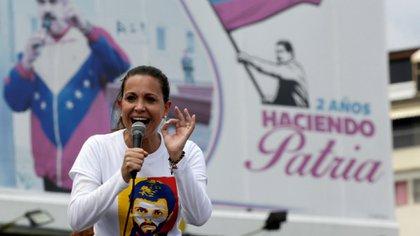 María Corina Machado se encuentra inhabilitada para ejercer cargos públicos por el régimen de Maduro