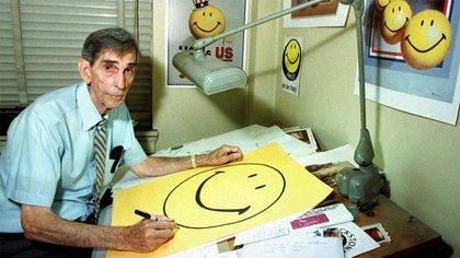Harvey Ball diseñó a Smiley en 10 minutos y cobró, por todo concepto, USD 45 por su obra hoy ubicua.