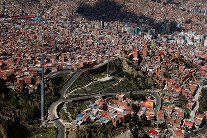 Vista aérea de El Alto (REUTERS/Henry Romero)