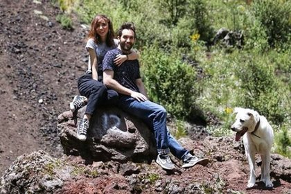 Natalia Téllez y Antonio Zabala subieron esta foto a sus cuentas de Instagram, acompañadas por emojis de corazón (IG: natalia_tellez)