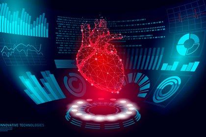 Una de las ideas centrales del paper de tipol plantea que la lesión cardíaca, reflejada por las concentraciones de troponina (una enzima específica del músculo cardíaco) en la sangre, es común con el COVID-19 (Shutterstock)