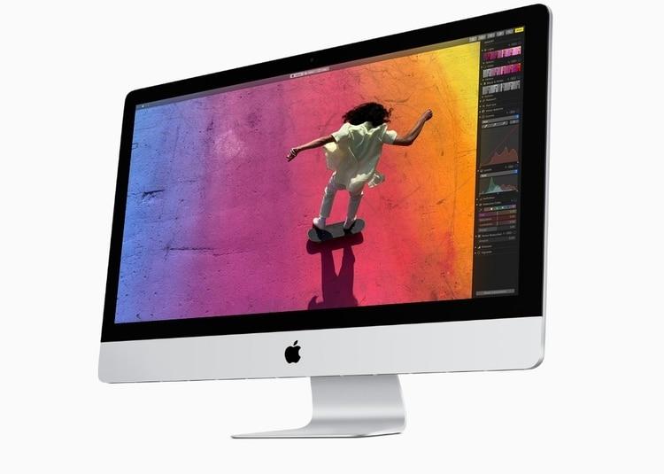 Apple renovó sus iMac de 21,5 y 27 pulgadas.