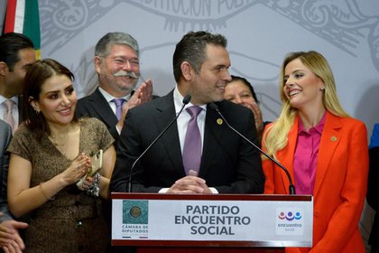 Irma Terán, defendió su decisión de cambiar de militancia política para unirse a su esposo (FOTO: CUARTOSCURO)