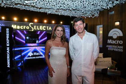 Milagro Medrano y Alejo Quiroga disfrutaron del evento al aire libre