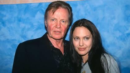 Jon Voight y su hija Angelina Jolie dejaron de tener contacto durante años  (Grosby Group)