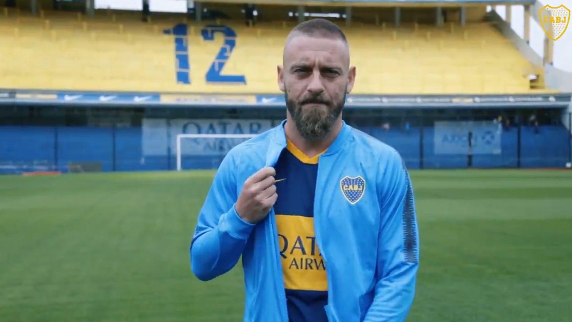 Daniele De Rossi, flamante refuerzo de Boca Juniors