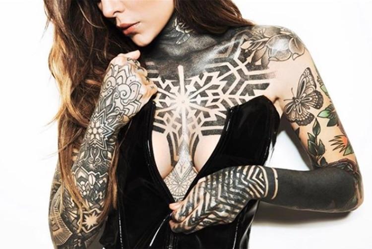 Los tatuajes de Cande Tinelli (Foto: Instagram)