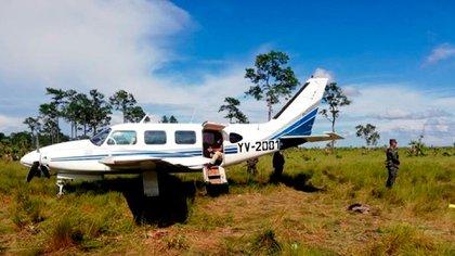 Otra avioneta con cocaína proveniente de Venezuela, incautada meses atrás en Honduras (Foto: Fuerzas Armadas de Honduras)