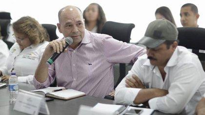 El alcalde de Arenal del Sur, José Luis Pacheco, denunció amenazas contra su vida por parte del ELN