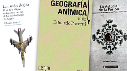 Algunos libros de Eduardo Porretti