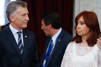 La Vicepresidente afirmó que no deseaba saludar a Macri (EFE)