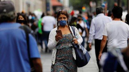 La Secretaría de Salud informó sobre el avance de la enfermedad de COVID-19 en México (Foto: Reuters)