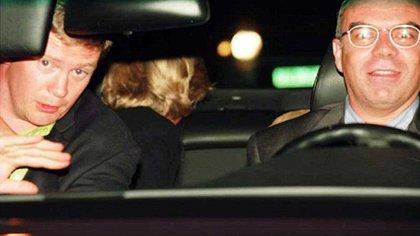 Una de las últimas imágenes antes del trágico accidente en el que murió la princesa Diana