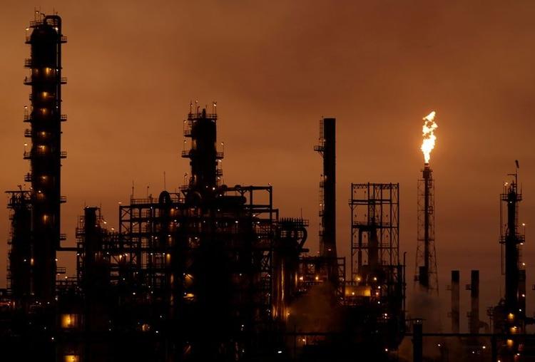 FOTO DE ARCHIVO. Vista panorámica de la refinería Cadereyta, perteneciente a la petrolera estatal mexicana Pemex. 5 de octubre de 2019. REUTERS/Daniel Becerril.