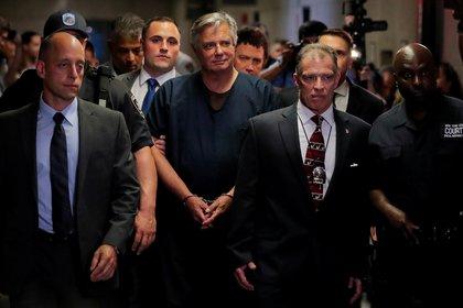 El ex titular de la campaña de Trump, Paul Manafort, otro de los indultados (REUTERS/Lucas Jackson/Foto de archivo)