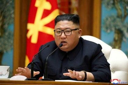 Siguen las especulaciones sobre el estado de salud de Kim Jong-un (KCNA/vía REUTERS)
