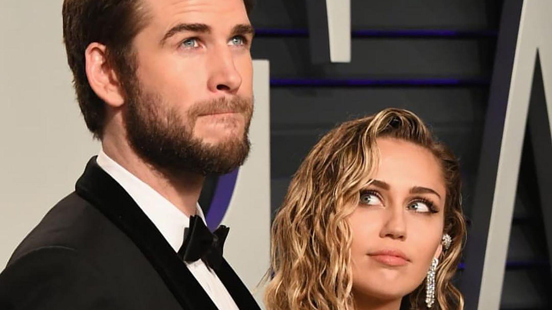 Liam Hemsworth y Miley Cyrus se casaron en diciembre de 2018