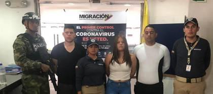 Miembros de las fuerzas de la dictadura chavista detenidos en Colombia    Foto cortesía de EL TIEMPO