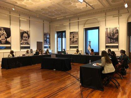 El 22 de junio se realizó una reunión, en la Casa Rosada, entre Mujeres Gobernando y Mujeres Gestionando.