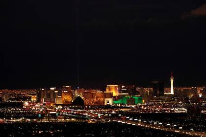 Las Vegas sería la ciudad elegida por su capacidad hotelera y fácil desplazamiento (Reuters)