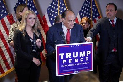El abogado de Trump, Rudy Giuliani
