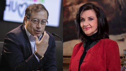 """Gustavo Petro calificó como """"una oportunidad"""" la renuncia de Claudia Blum a la Cancillería"""