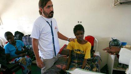 Lucas Molfino trabajó durante años en diversos países de la África subsahariana (Prensa MSF)