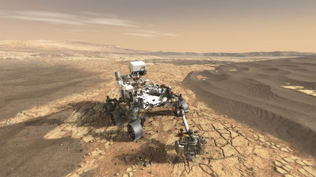 Con varios robots sobre la superficie de Marte, el estudio de nuestro vecino planeta se profundizará (NASA)