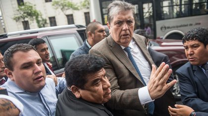 Alan García es investigado en el caso Odebrecht (Photo by ERNESTO BENAVIDES / AFP)