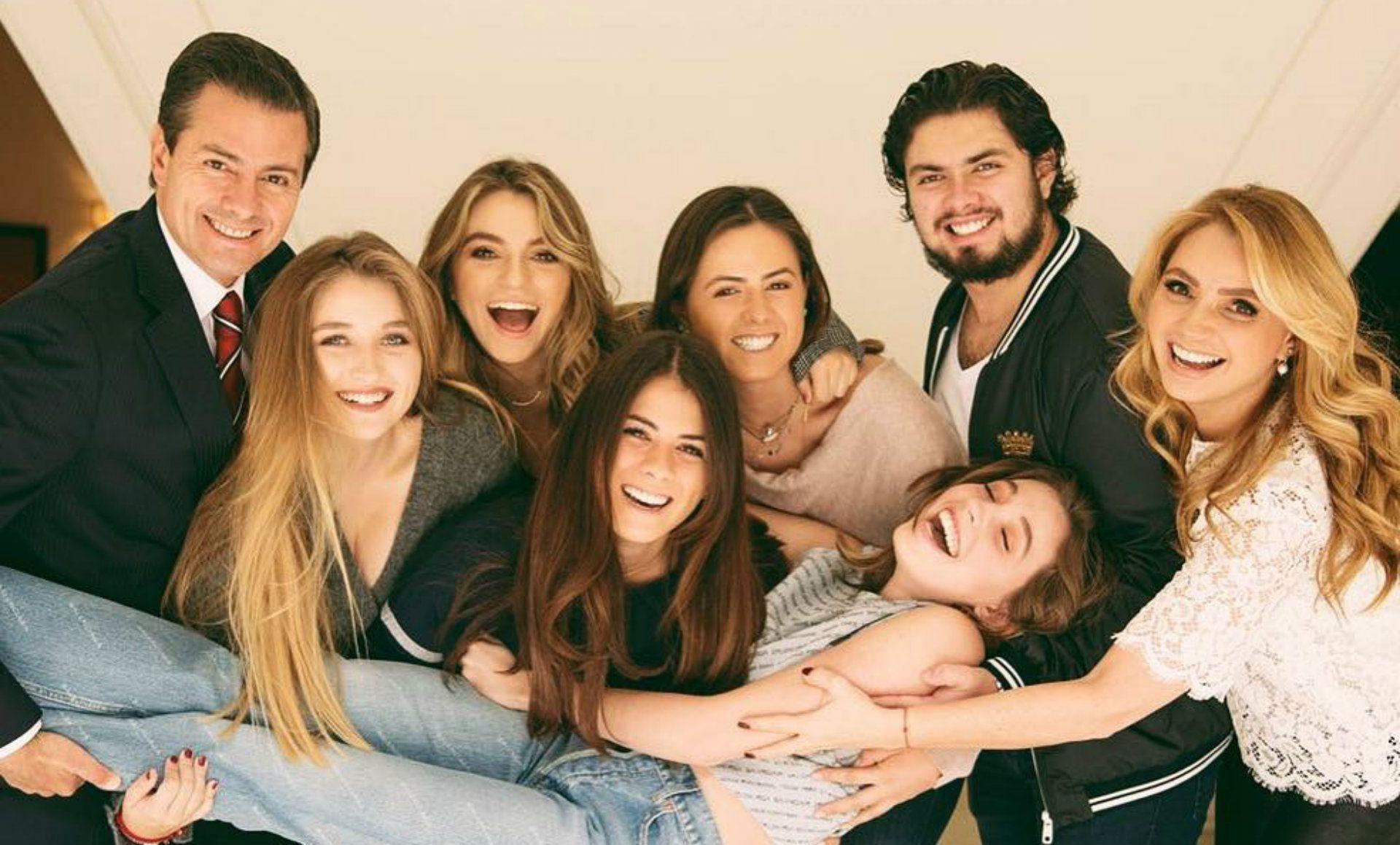Las hijas de Peña Nieto y Rivera siguen en contacto (Instagram)