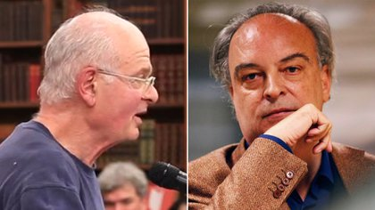 Stephen Dixon y Enrique Vila-Matas