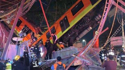 """El presidente dijo que no asistió a la zona del desastres porque """"no es su estilo"""" (Foto: Twitter/@CNPC_MX)"""