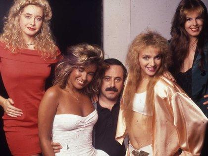 Fabrykant retrató a Jorge Guinzburg con el grupo Las Primas