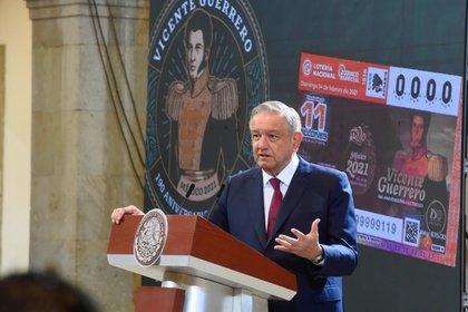 02/14/2021 The President of Mexico, Andrés Manuel López Obrador CENTRAL AMERICAN POLITICS MEXICO PRESIDENCY OF MEXICO