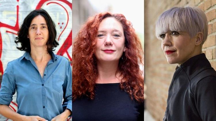Natalia Carrero, Cristina Fallarás y Remedios Zafra.
